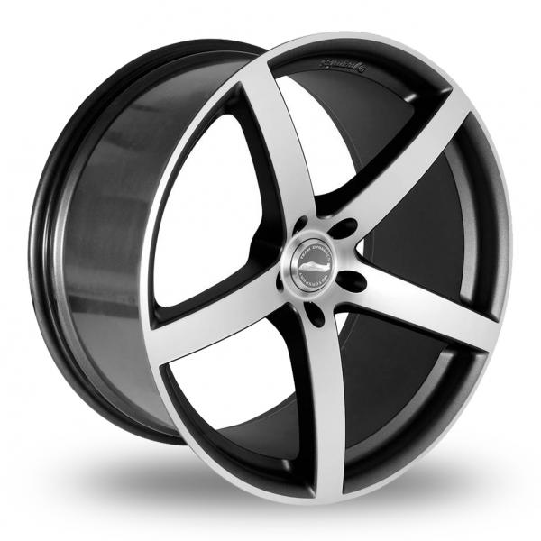 "Picture of 20"" Team Dynamics Silverstone Anthracite/Polished Wider Rear"