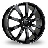 Riva SUV Black Polished Alloy Wheels