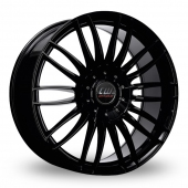 CW by Borbet CW3 Black Alloy Wheels