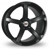 Team Dynamics Jade R Smooth Wider Rear Black Alloy Wheels