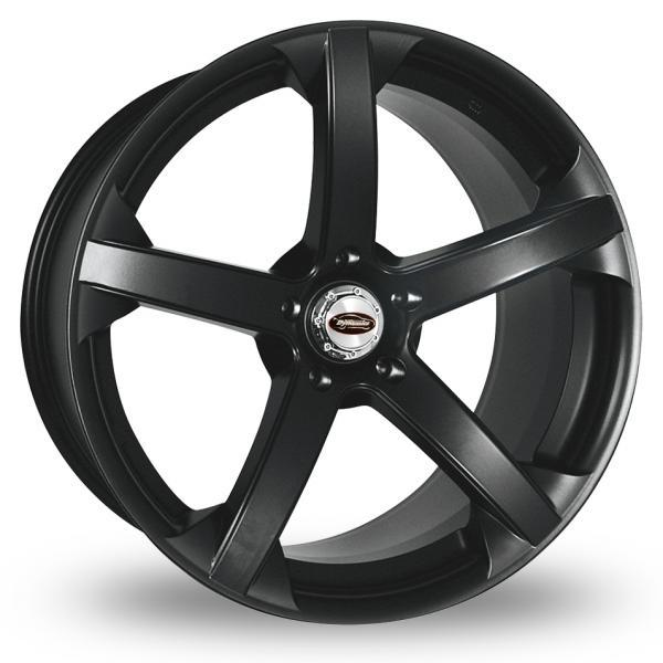 "Picture of 19"" Team Dynamics Jade R Smooth Black Wider Rear"