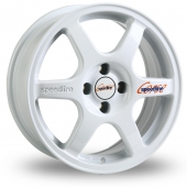 Speedline Comp 2 White Alloy Wheels