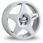Speedline Challenge White Alloy Wheels