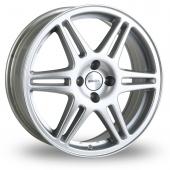 Speedline Chrono Silver Alloy Wheels
