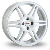 Speedline Chrono White Alloy Wheels