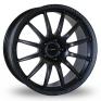 17 Inch Team Dynamics Pro Race 1 2 Matt Black Alloy Wheels