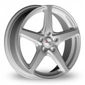 Xtreme X60 Silver Alloy Wheels
