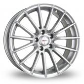 Xtreme X12 Silver Alloy Wheels