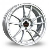 Borbet MC 5x130 Wider Rear Silver Alloy Wheels