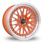 Dare DCC Orange Alloy Wheels