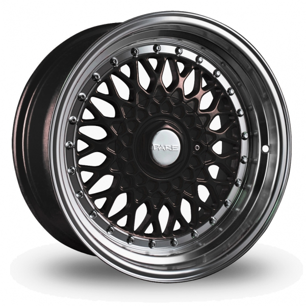 """Picture of 17"""" Dare DR-RS Black Chrome Rivets Wider Rear"""