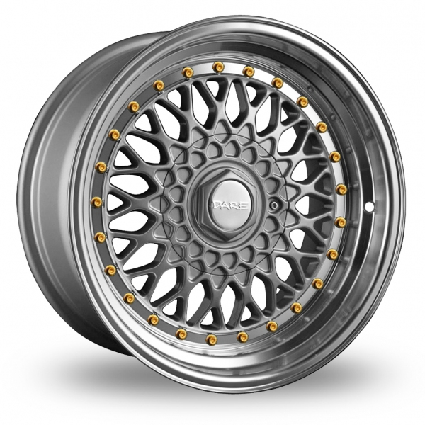 Dare DR-RS Silver Gold Rivets