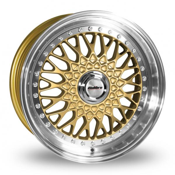 "Picture of 17"" Calibre Vintage Gold Wider Rear"