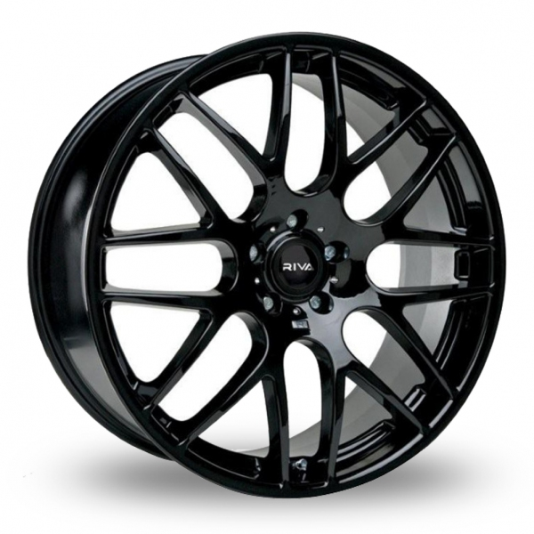 "Picture of 20"" Riva DTM Black Wider Rear"