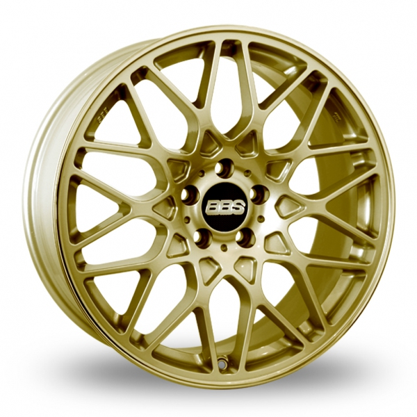 "Picture of 19"" BBS RX-R Gold Wider Rear"