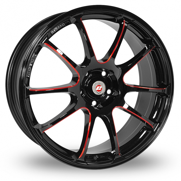 """Picture of 19"""" Calibre Friction Black/Red"""
