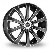 Momo Europe Black Polished Alloy Wheels