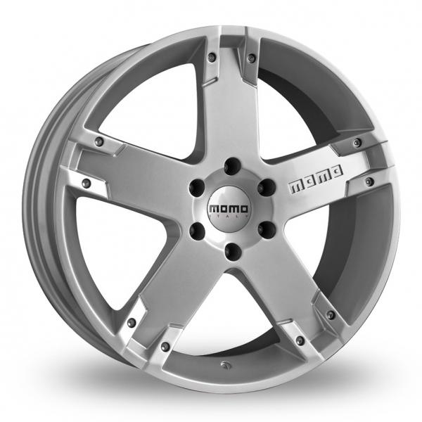 Momo Storm G2 Silver Alloy Wheels