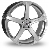 Team Dynamics Jade R Hi Power Silver Alloy Wheels