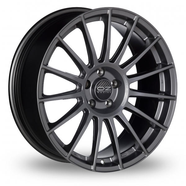 "Picture of 21"" OZ Racing Superturismo LM Graphite Wider Rear"