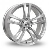 Tekno RX4 Silver Alloy Wheels
