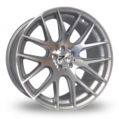 Zito ZL935 Silver Polished Alloy Wheels