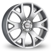 Dezent O Silver Alloy Wheels