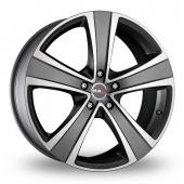 MAK Fuoco  5 Ice Titan Alloy Wheels