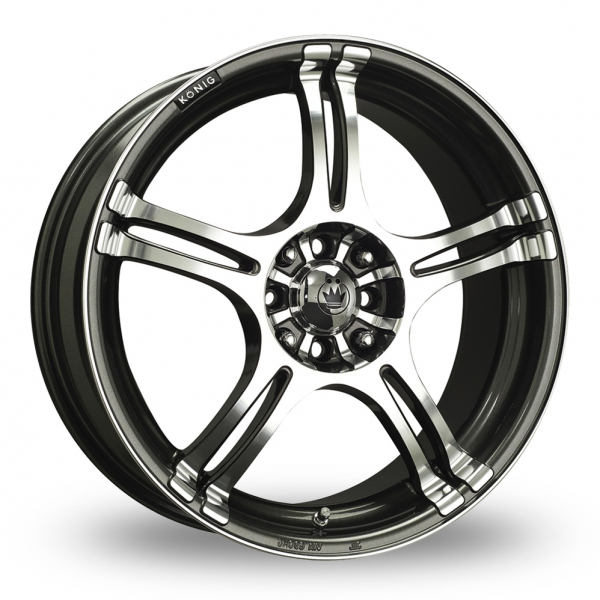 Konig Incident Graphite Polished
