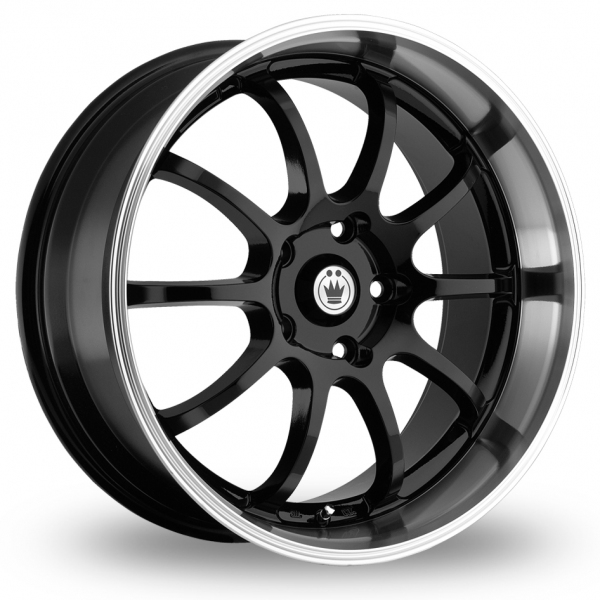 "Picture of 18"" Konig Lightning Black Wider Rear"