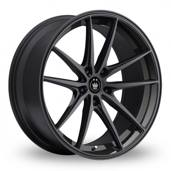 "Picture of 18"" Konig Oversteer Black Wider Rear"