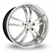 Privat Atlantik Silver Polished Alloy Wheels