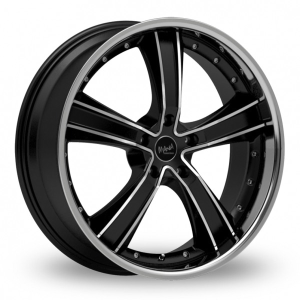 "Picture of 20"" Inovit Crillon Black/Polished"