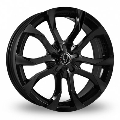 19 Inch Wolfrace Assassin Black Alloy Wheels