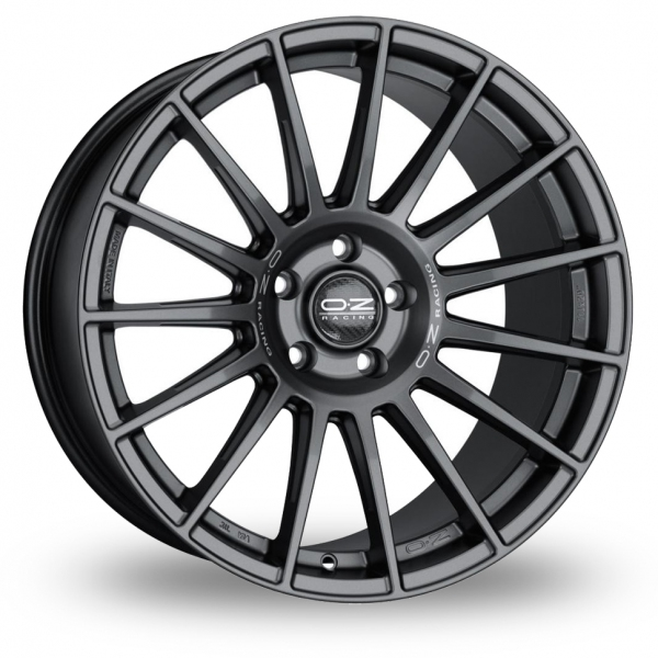 "Picture of 21"" OZ Racing Superturismo Dakar Matt Graphite Wider Rear"