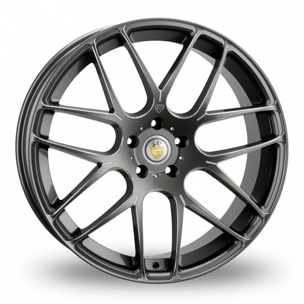"Picture of 18"" Cades Bern Accent Grey Wider Rear"