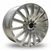 Dare Madisson Silver Alloy Wheels