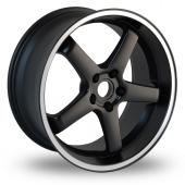 Dare Hiro Black Alloy Wheels
