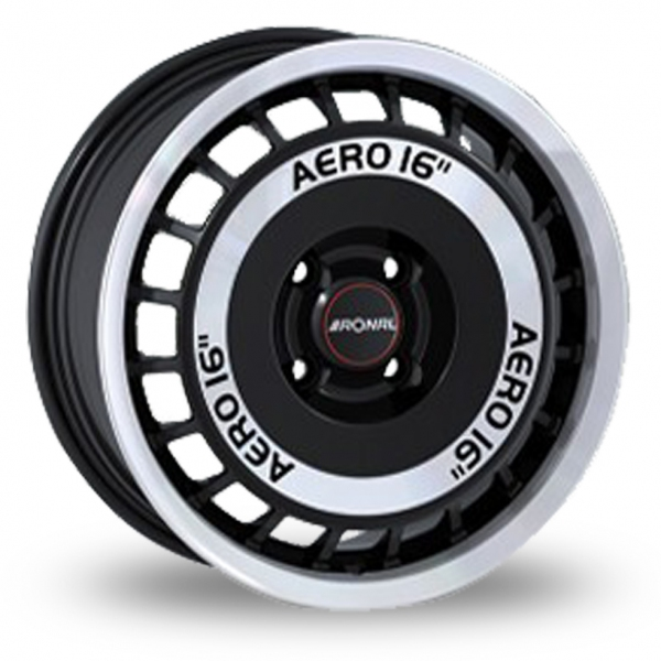 ronal r50 aero black polished alloy wheels wheelbase. Black Bedroom Furniture Sets. Home Design Ideas