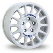Speedline 2118 White Alloy Wheels