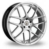 Cades Bern Accent Silver Polished Alloy Wheels