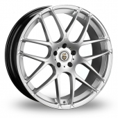 Cades Bern Accent Hyper Silver Alloy Wheels