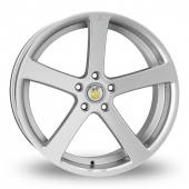 Cades Apollo Hyper Silver Alloy Wheels