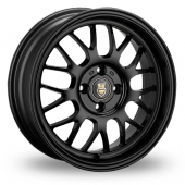 Cades Eros Stealth Matt Black Alloy Wheels