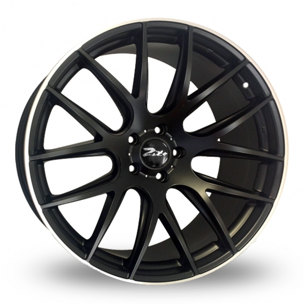 Zito 935 Black Load Rated Alloy Wheels