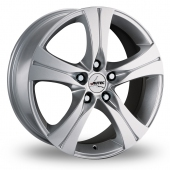Autec Ethos Silver Alloy Wheels
