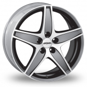 Ronal R48 Anthracite Polished Alloy Wheels