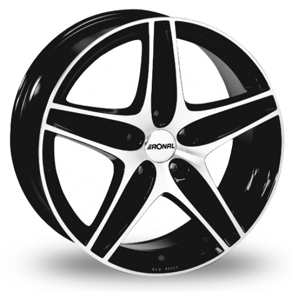 "Picture of 17"" Ronal R48 Black"