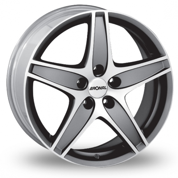 "Picture of 17"" Ronal R48 Anthracite"