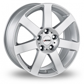 Autec Arctic Plus Silver Alloy Wheels
